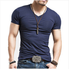 2017 Summer Fashion Casual Short-Sleeved Men T-shirt Pure Cotton Fitness Tops Tees - mmnjjjj Store store