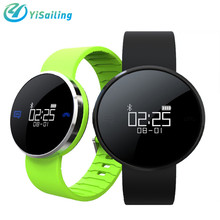Yisailing UW1S Bluetooth Smart band Heart Rate Calls SMS Sport Smart Bracelet IP67 Waterproof Mirror Surface Screen for IOS