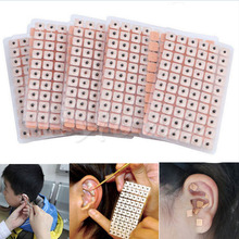 600Pcs/lot Acupuncture Needle Ear Vaccaria Seeds Ear Massage Relaxation Ears Stickers Auricular-paster Press Seeds Wholesale