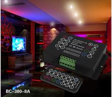 IR Remote RGB controller 8A*3CH DC5V-DC36V programmable RGB LED Controller
