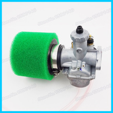 26mm Mikuni Carburetor Carb  & Green 38mm Foam Air Filter For Lifan YX Thumpstar YCF 125cc Pit Dirt Bike Atv Motocross