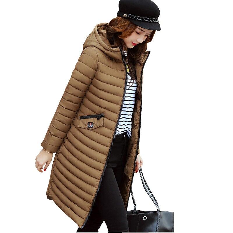 Fanmuer2017 New women winter jackets coat casual solid with hooded warm parkas outwear cotton Jacket coats Womens ClothingÎäåæäà è àêñåññóàðû<br><br>