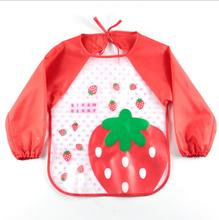 2017 Cute Baby Playing Apron Funny Novelty Party Apron Kitchen Cooking Apron Waterproof Baby kids Children Bib Aprons(China)