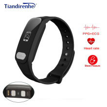 Buy Hot Saled Smart Bracelet ECG+PPG Blood Pressure Heart Rate Monitor Watches Fitness Activity Tracker Wristband pk mi Band 2 for $31.27 in AliExpress store