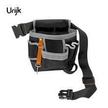 Urijk 600D Oxford Tool Bag Belt Waist Bag Pouch Waist Pocket Outdoor Work Hand Tools Hardware Storage Electrician Gardening Tool(China)