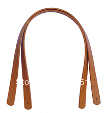 Freeshipping 2pcs/Lot 55cm long New PU Leather Shoulder Bag Handle DIY Purse Strap 3 color available,mixed is OK