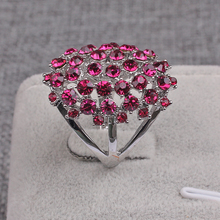 5 Colors Wholesale Newest Fashion Jewelry Unique Creative Products Full Rhinestones Elegant Women Gifts Vintage Rings for Unisex