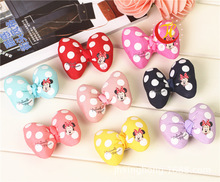 New Pet Lovely Bow Clip Pet Grooming Accessories Hair Bow  Dog Hair Bows hairpin Pet supply 20pcs