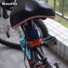 Buy WasaFire Mountain Road Bicycle Outdoor Solar Power LED Rear Light Waterproof Cycling Safety Warning Tail Lamps Bike Accessories for $3.25 in AliExpress store