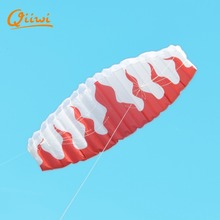200cm*70cm Fire Beach Stunt Cool Kite Handle Line Reel Sport Kitesurf Paraglider Windsock Easy To Fly Gift For Kids Outdoor Fun(China)