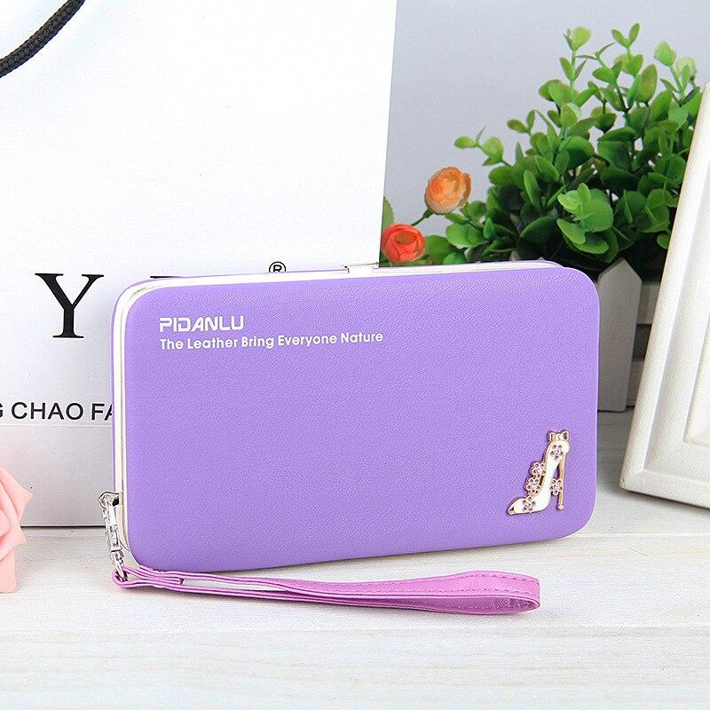 Wallet Purse Universal Phone Case Purple