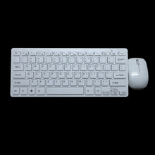 Hot New Original Mini 03 2.4G Wireless Keyboard and Optical Mouse Combo 1600DPI White Black for Desktop Hot Promotion(China)