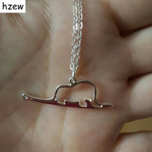 Buy hzew 1pcs animal cute wholesale Little Prince necklace jewelry Elephant snake Charm women child jewelry present birthday for $1.45 in AliExpress store