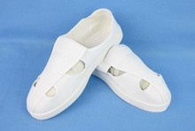 Free Shipping 4pairs/lot quality antistatic canvas anti-skid cleanroom shoes dust-free working shoes(China)
