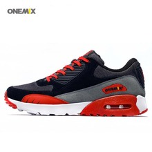 ONEMIX Free 1065 wholesale athletic Men's Women's 90 Retro Mesh Sneaker Training Sport Running MAX shoes(China)