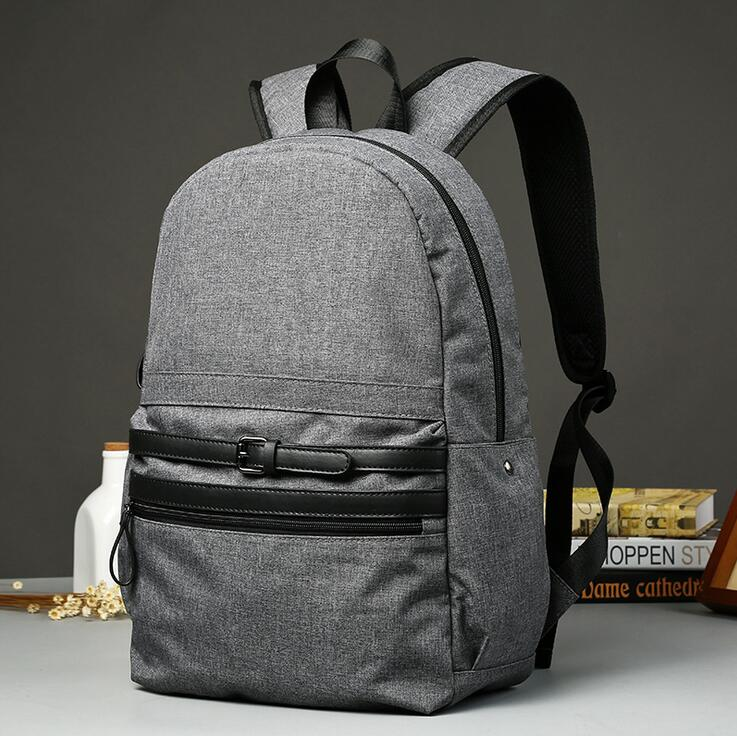 yesetn bag 111616 mens new fashion canvas backpack student school double shoulder bag<br><br>Aliexpress