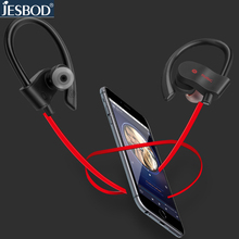 JESBOD S1 Bluetooth V4.1 Headphones Wireless Sports Earphones Sweatproof Headsets Aptx 3D Stereo Sound Earbuds for all phones PC