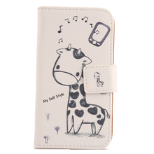 Exyuan 1PC Accessory Book Design Flip PU Leather Cover Protection Skin Case For Huawei Ascend P1 U9200(China)