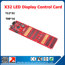 LED dislay control card China manufacturer X32 control card support 14 languages single dual full color led sign control card(China)
