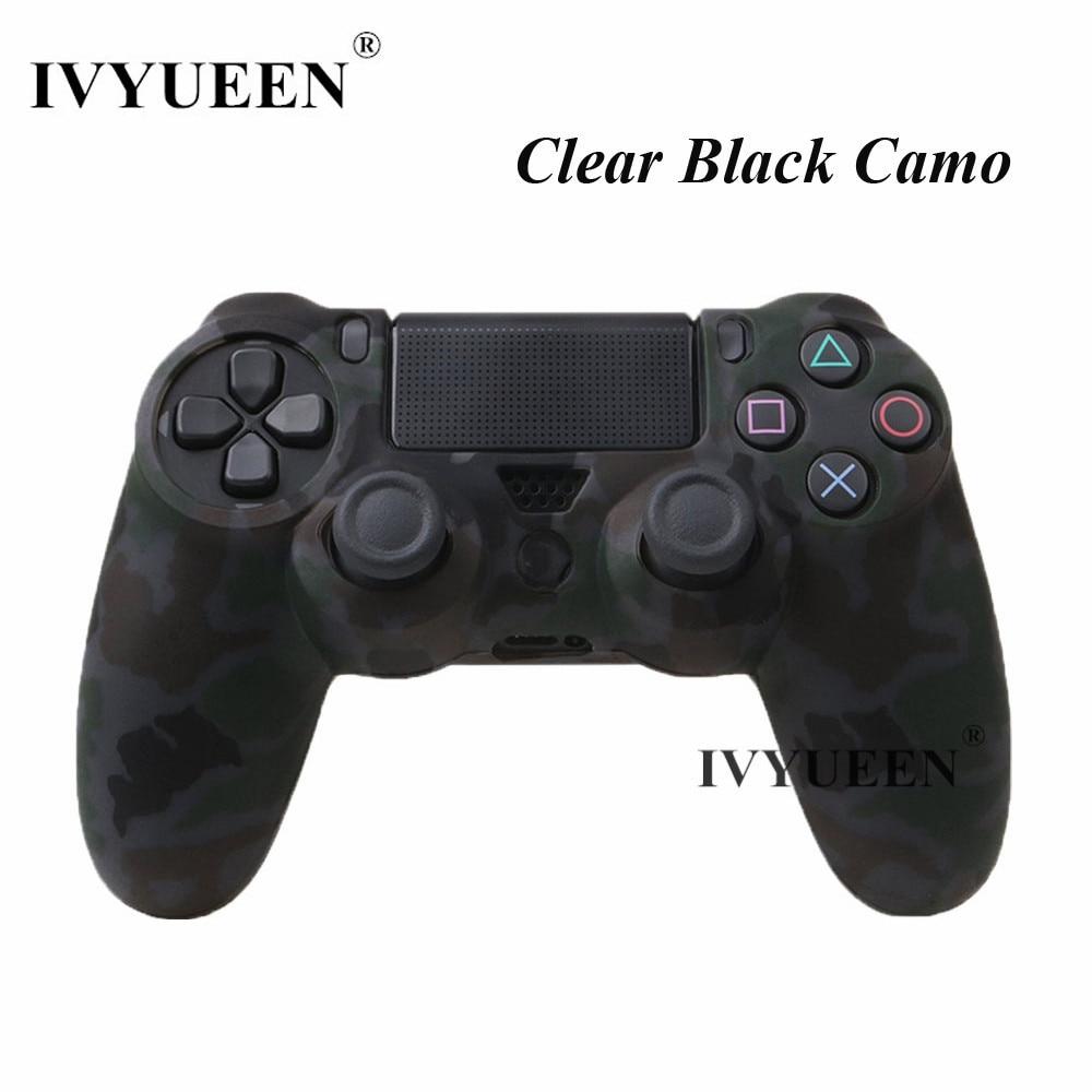 E clear black camo