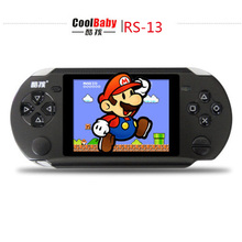 3.8 inch Players Games Console Handheld Game CoolBaby RS-13 Built 472 Games +128IN 1Card Games Support AV External handles jeux