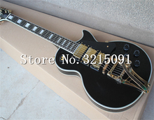New arrival custom shop 1968 LP custom Reissue VOS electric guitar,Bigsby Black guitar,Free shipping