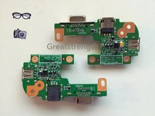 Laptop Power Jack Port VGA USB IO Board For Dell Inspiron 15R N5110 N5010 48.4IF05.011 DQ15DN15 CRT