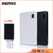 Buy REMAX High Capacity Power Bank 4 USB Portable Powerbank External Mobile Battery Charger bateria externa iPhone 6s HTC Tablet for $27.29 in AliExpress store