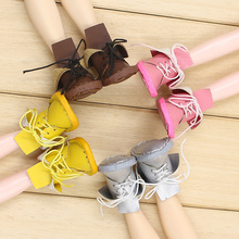 Free shipping Blyth doll cute leather  boot with 4 styles for chossing suitable for Rubber and Joint body doll Factory Blyth
