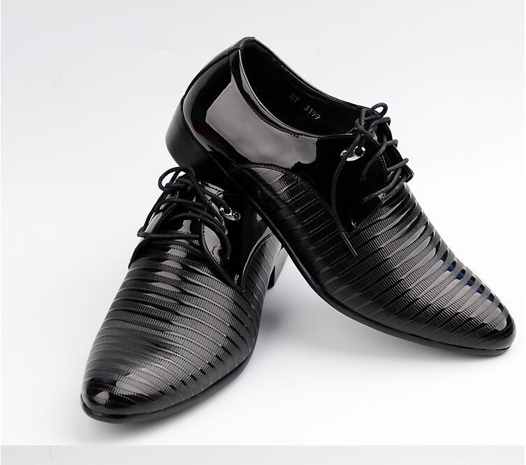 JOZIGBEMA New Classic Men Dress Shoes Style Man Leather Wedding ... 30cf96131fad