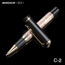 "+2 Free Refill/Rods Baoer 507 Copper Roller Ball Pen Xubeihong ""the eight horses"" Free shipping 100% New"