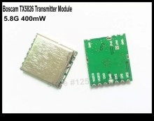 Newly Released Boscam 5.8G  FPV 400mW 8CH Wireless  Audio Video Transmitter Module TX5826 Only 4g Free Shipping