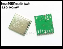 Newly Released Boscam 5.8G FPV 400mW 8CH Wireless Audio Video Transmitter Module TX5826 Only 4g Free Shipping(China)