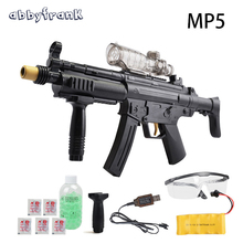 Abbyfrank MP5 Water Guns Electric Sniper Toy Guns Outdoor Live CS Toys Water Bullet Cool Black Toy Guns Outdoors Battle Toys