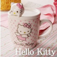 New Hello Kitty Ceramic Coffee Cup For Children Gifts
