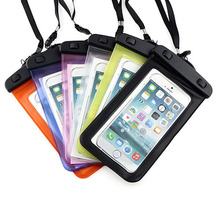Waterproof Durable Water proof Bag Underwater back cover Case For Moto X2 X+1 G G2 for other 5.5 inch mobile phone(China)