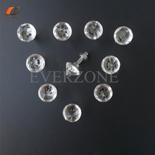 Fiber Optic Lights Crystal End Fittings for Shinning Stars Effect 10pcs