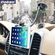 2017 Universal Tab Car Holder Tablet Car Windshield Stand Mount Long Arm phone stand 360 Rotation Holder for Tablet mobile phone