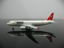 1:500 NWA American Northwest Airlines A320 N316US Aircraft Model Buy Airplane Toy For Kids Free Shipping
