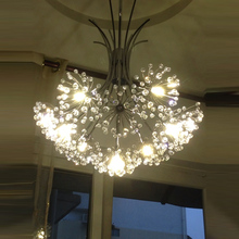dandelion chandelier caboche chandelier crystal chandelier manufacturer bubble crystal chandeliers flower lighting wedding(China)