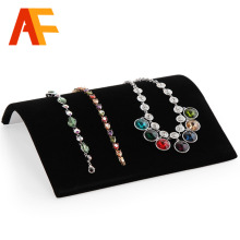Wholesale Black rack Jewelry The necklace Display Show Case Organizer Tray Box Organizer Tray Necklace display board