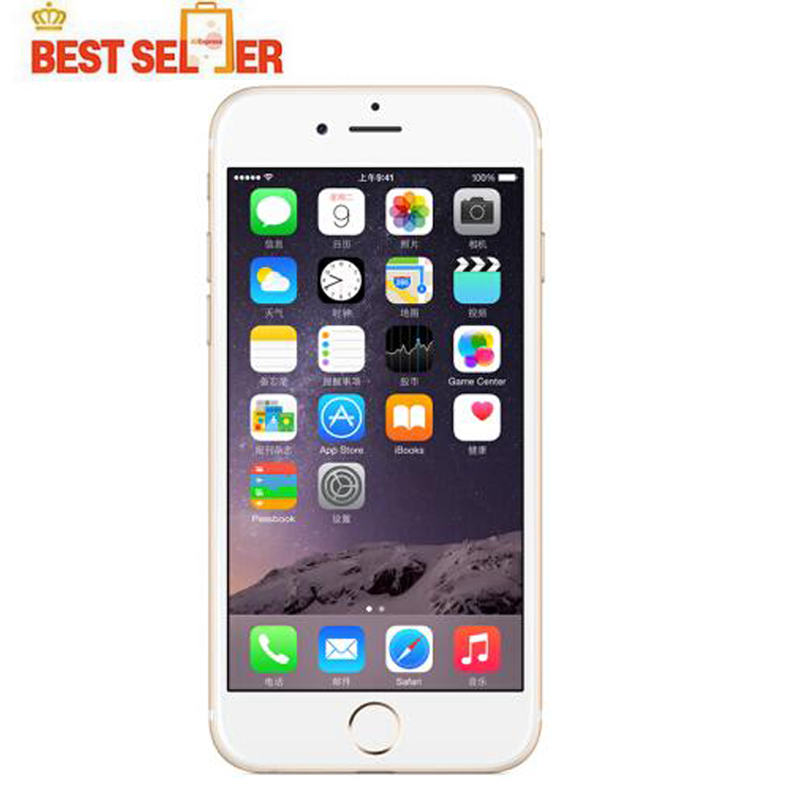 Apple iPhone 6 Original Unlocked IOS Smartphones 4.7 inch Touch Sreen Dual Core LTE -1 Year Quality Warranty Original phones Store)