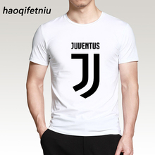 haoqifetniu 2017 Summer Fashion Juventus T Shirt Men's Short Sleeve cotton Printed T-Shirt Funny Tees Harajuku Shirts Cool Tops