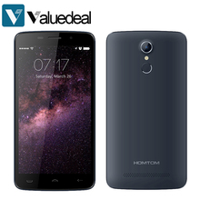 Original HOMTOM HT17 5.5 inch HD MT6737 Quad Core Android 6.0 4G Smartphone 1GB RAM 8GB ROM 8.0MP Fingerprint ID Dual SIM