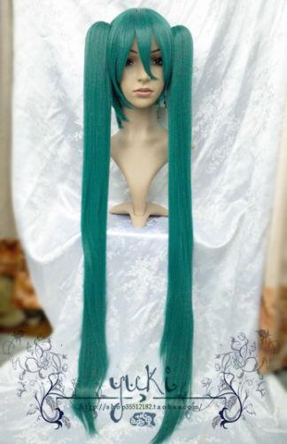 heat resistant Party hair &gt;&gt;&gt;Vocaloid Hatsune Miku Long Straight Wig- Z864<br><br>Aliexpress