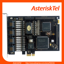 Dual Port ISDN PRI PCI-E card , Digital T1 card E1 card ,Asterisk Digital Card ,A102E,Freepbx A102DE