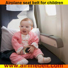Latest updated children safety seat belt harnessfor airplane car bus use Free shipping (Dark green series)