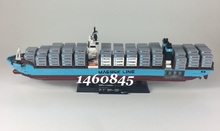 LEPING 22002 Technic Series The Maersk Cargo Container Ship Set Educational Building Blocks Bricks Model Toys Gift Bela 10597