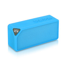 Wireless portable Mini Bluetooth Speaker X3S with LED Light AUX FM Radio Subwoofer Loudspeaker TF Card with Mic Caixa De Som New(China)