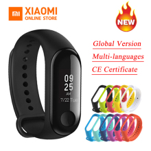 Global Version Xiaomi Mi Band 3 Miband 3 Smart Tracker Band Instant Message 5ATM Waterproof OLED Touch Screen Mi Band 3 (China)